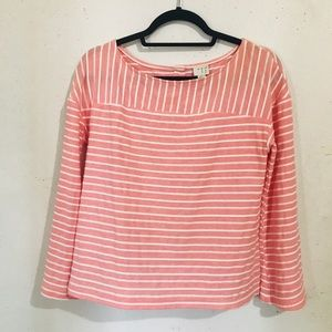 Long Sleeve Striped Top - Size Small